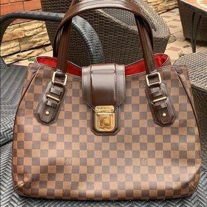 Louis Vuitton damier hobo bag
